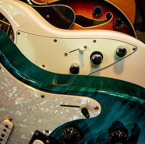 enregistrement des guitare